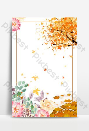 Hello September fresh autumn promotion PSD layered Backgrounds Template PSD