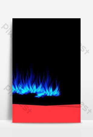 اللهب الأزرق التعريفي طباخ الطبقات الصورة الرئيسية صورة الخلفية خلفيات قالب PSD