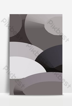 سماعات ستيريو رمادية هندسية الطبقات الصورة الرئيسية خلفيات قالب PSD