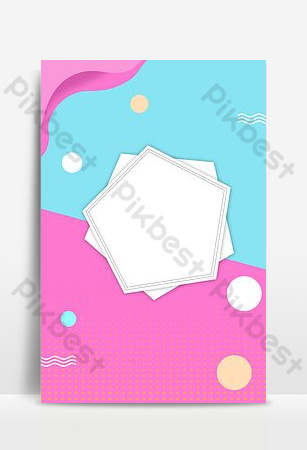 Refreshing and fresh overseas purchasing selected good goods promotion poster Backgrounds Template PSD