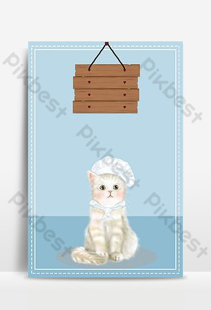 Pet shop poster advertising background Backgrounds Template PSD