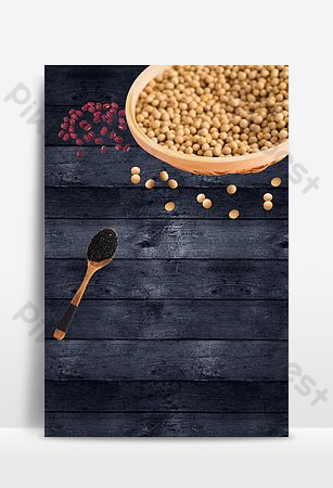 Grain seasoning background template Backgrounds Template PSD
