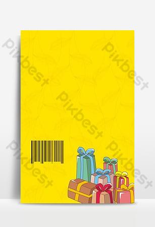 precio de regalo promoción regalo código qr tijeras fondo h5 Fondos Modelo PSD