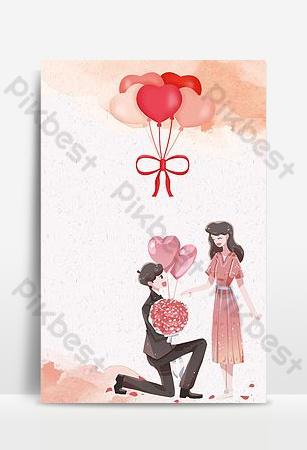 今天我要嫁給你紅色中國風婚禮海報 背景 模板 PSD