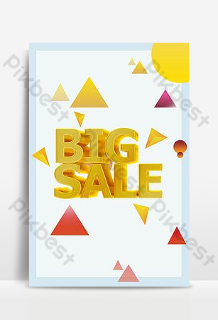 Background for the end of the season clearance sale poster Backgrounds Template PSD