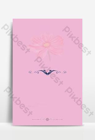 fondo para el tablero de recordatorio rosa de la boda Fondos Modelo PSD