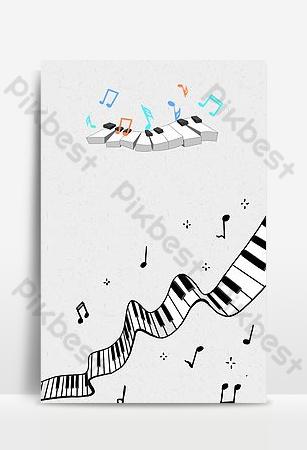 Contexte pour l'affiche du bar du festival de musique Fond Modèle PSD
