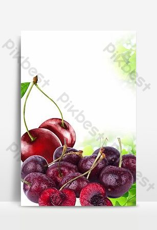 Seasonal fresh fruit sweet and sour bayberry promotion poster background Backgrounds Template PSD