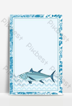 Seafood special promotion poster background Backgrounds Template PSD