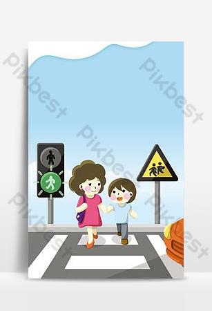 文明駕駛海報背景圖片 背景 模板 PSD
