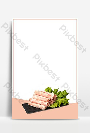 Need seafood buffet promotion Backgrounds Template PSD