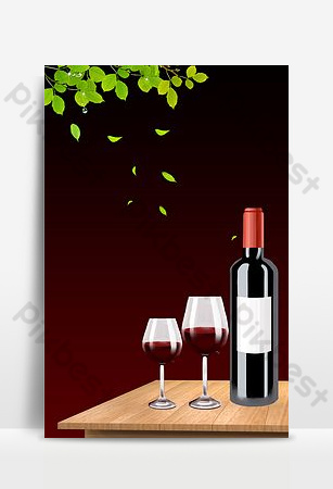 Fond de conception de panneau d'affichage de menu de vin de menu créatif Fond Modèle PSD