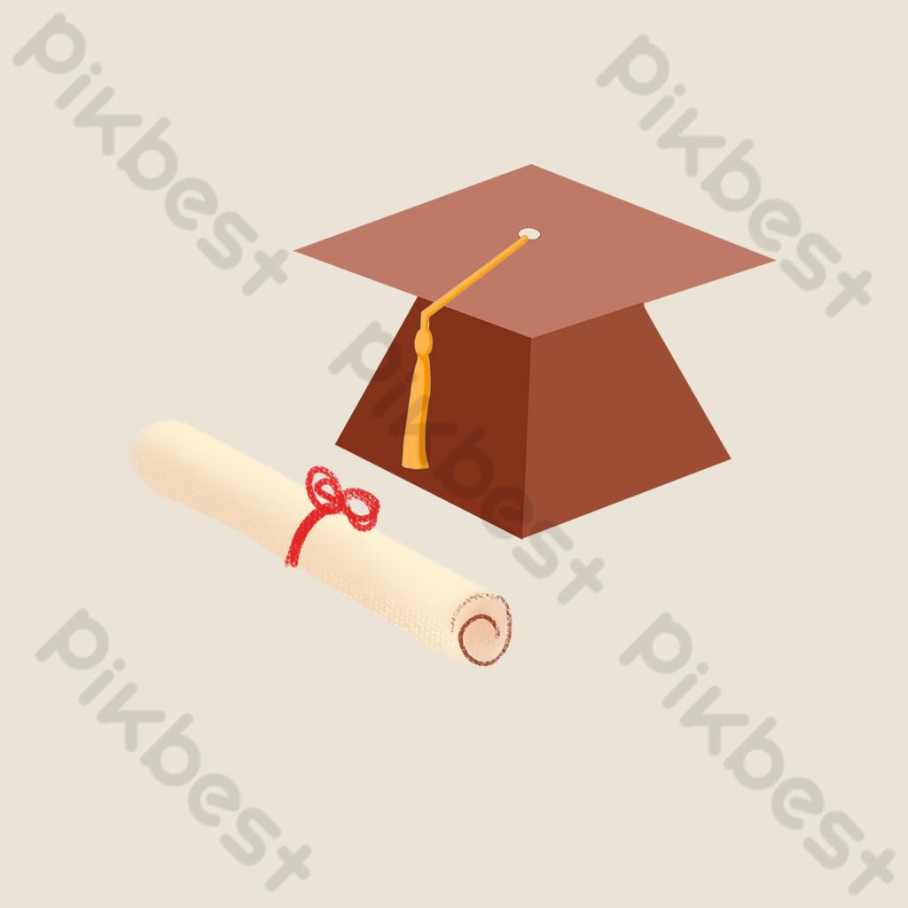 شهادة تخرج كرتون