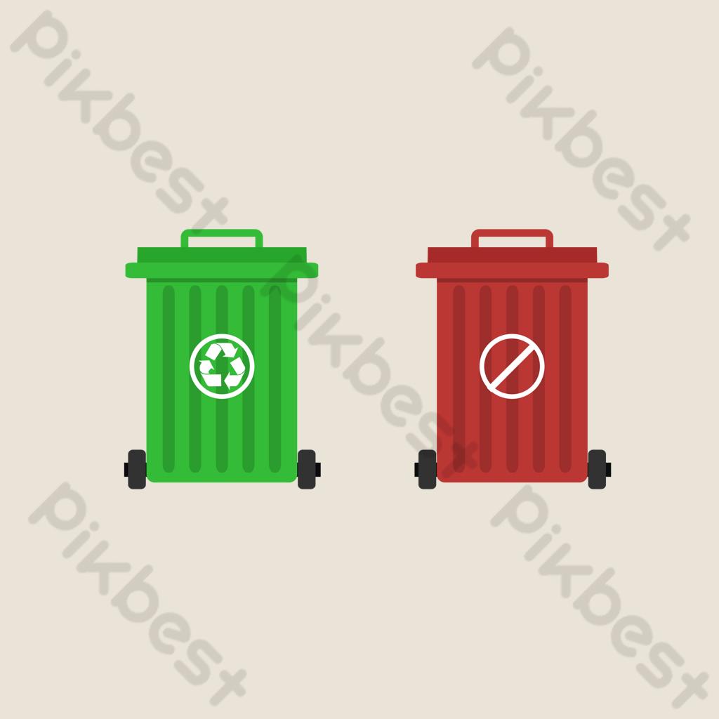 Garbage Sorting Garbage Truck Png Images Psd Free Download Pikbest