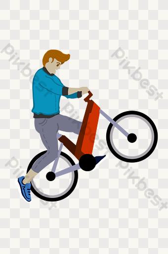 Gambar Naik Sepeda Template Psd Png Vektor Download Gratis Pikbest