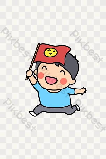 Gambar Kecil Bendera Merah Template Psd Png Vektor Download Gratis Pikbest