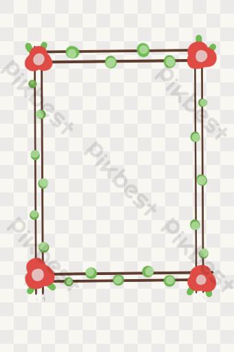 gambar garis bingkai png kartun vektor download gratis pikbest garis bingkai png kartun vektor