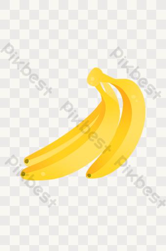 gambar kartun pisang template psd png vektor download gratis pikbest gambar kartun pisang template psd