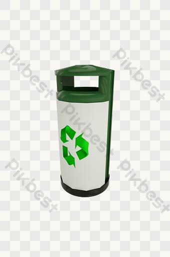 gambar ikon tempat sampah daur ulang hijau template psd png vektor download gratis pikbest ikon tempat sampah daur ulang hijau