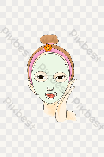 hair mask templates free psd png vector download pikbest pikbest