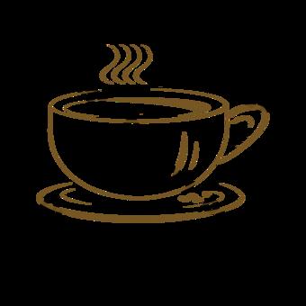 اليد تعادل الأعمال صورة ظلية القهوة الساخنة صور PNG قالب PSD