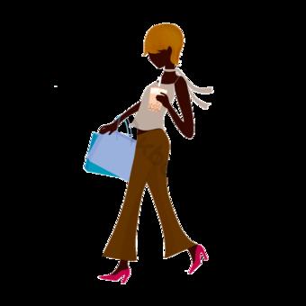 패션 여자 쇼핑 음식 쇼핑 클립 아트입니다 일러스트 템플릿 PSD