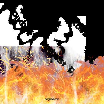 Patrón de llama de viento realista dibujado a mano creativa Elementos graficos Modelo PSD