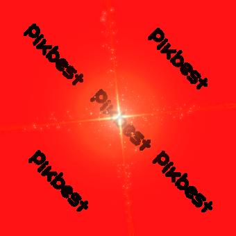 Gradiente de la Cruz Roja Sun Ray Efecto Elementos graficos Modelo PSD