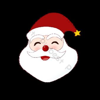 Q Versión de Santa Claus Avatar Elementos graficos Modelo PSD