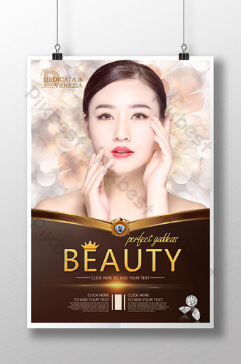 high end plastic surgery poster template micro Template PSD