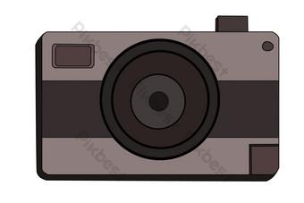 تصوير كاميرا رمادية صور PNG قالب PSD
