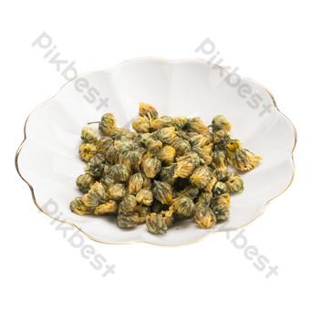 金邊陶瓷碗配香茶的實拍圖 元素 模板 RAW