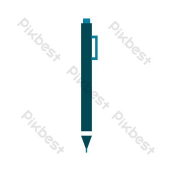 圓珠筆文具 元素 模板 AI