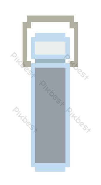 ilustración de patrón de escala electrónica azul Elementos graficos Modelo PSD