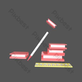 書本 元素 模板 PSD
