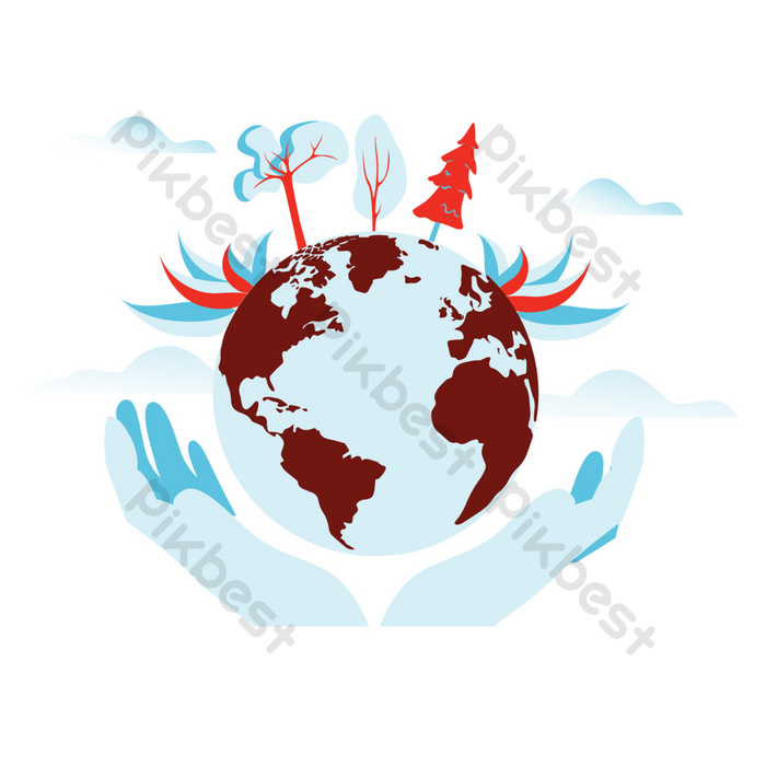 Cartoon Hand Holding Earth Vector Picture Png Images Ai Free Download Pikbest Download 121 hands holding earth free vectors. pikbest