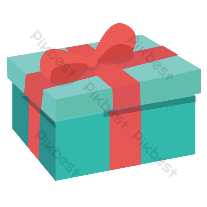 Cartoon Holiday Gift Box Png Images Ai Free Download Pikbest