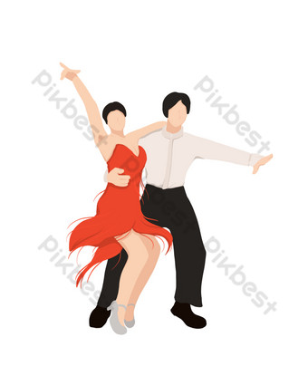 ثقافة وفن رقص لاتيني صور PNG قالب PSD