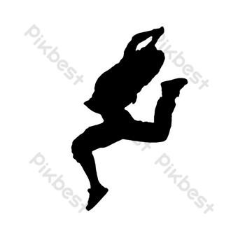 舞蹈表演舞蹈 元素 模板 PSD