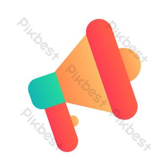 icono de comercio electrónico notificación de compras Elementos graficos Modelo AI