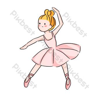 教育培訓芭蕾舞蹈課女孩腿部新聞 元素 模板 PSD