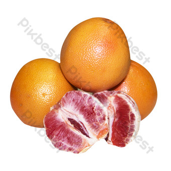 Fresh fruit delicious separated grapefruit fruit HD picture PNG Images Template RAW