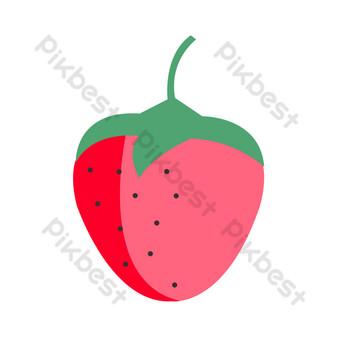 icono de fruta elemento png Elementos graficos Modelo PSD