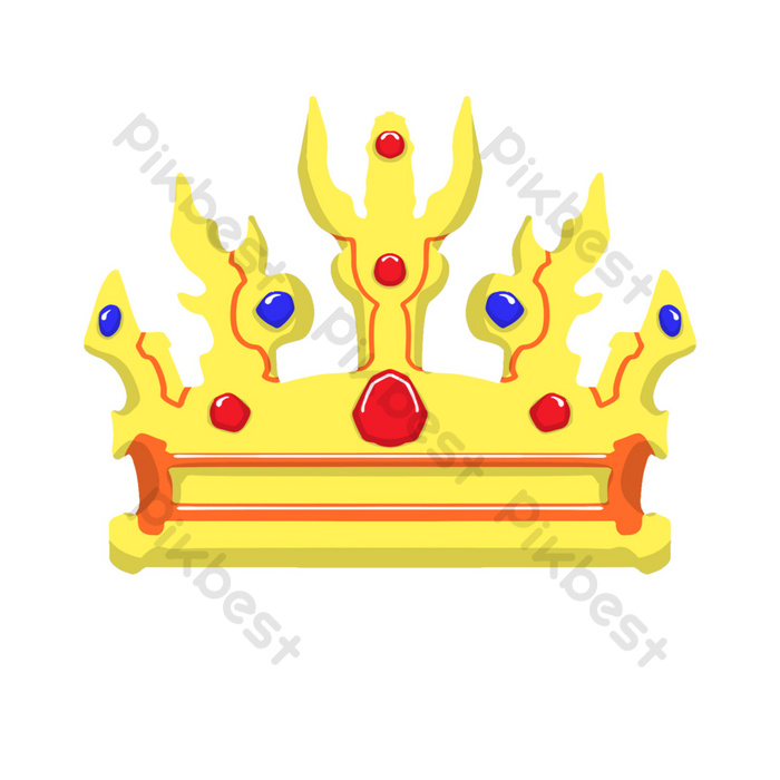 Golden Crown Hand Drawn Illustration Png Images Psd Free Download Pikbest Yellow crown logo, crown, cartoon queen crown, cartoon character, cartoons, crowns png. pikbest