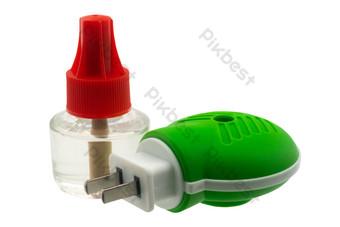綠色滴瓶電蚊香 元素 模板 RAW