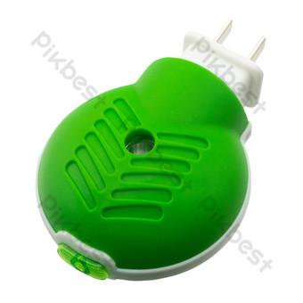 綠色電蚊香 元素 模板 RAW