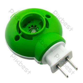 綠色插入蚊香 元素 模板 RAW