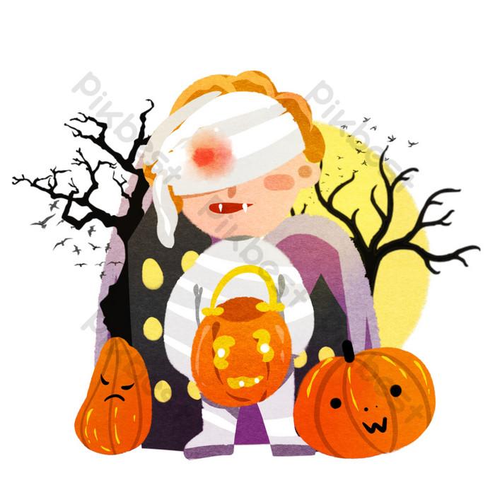 28+ Halloween Pumpkin Cartoon Drawing Gif