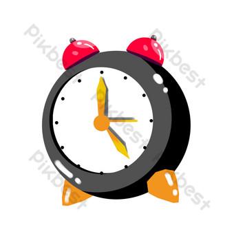 ساعة منبه منزلية داخلية صور PNG قالب PSD