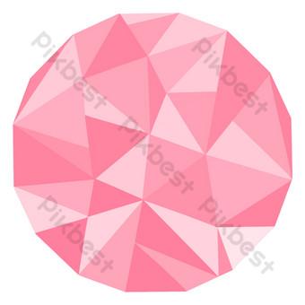 gráficos irregulares costuras geométricas rosas Elementos graficos Modelo PSD